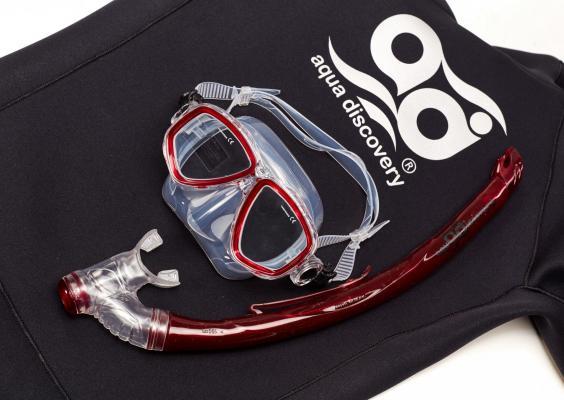 Набор маска + трубка AquaDiscovery