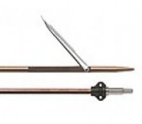 Гарпун каленый Tahitian, для ружей SALVIMAR Predathor 75, P. Vuoto 75, Vintair 75, ø 7mm, 75 см, один флажок